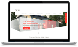 OKAL   Website Relaunch