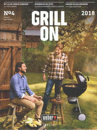"Weber Grill   Magazin ""Grill On"" 2018  Editorial"